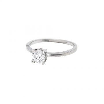 Prsten soliter se syntetickým kamenem 04a6fd7f554