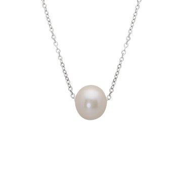 ff79f8d0d Náhrdelník se syntetickou perlou