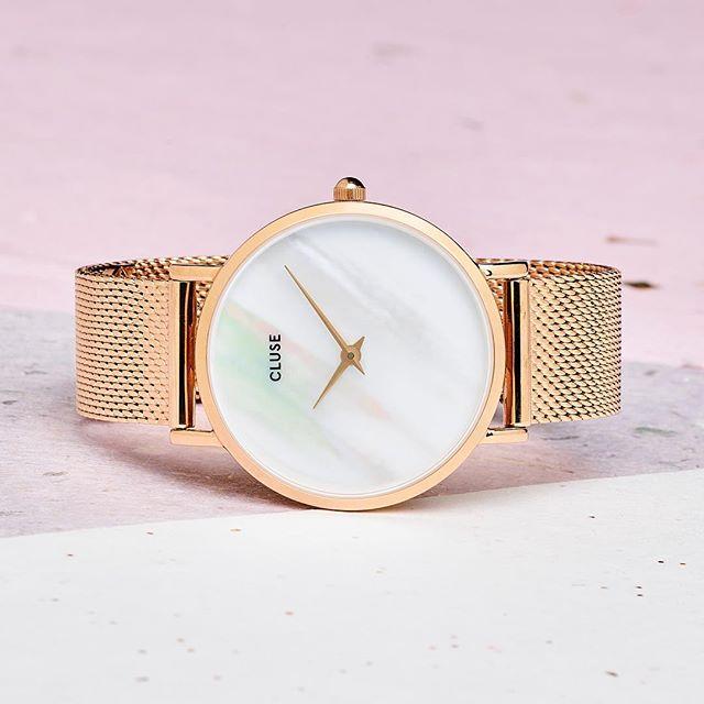 96c3e980855 Prvotřídní pastelový minimalismus obohacený o bohémský dekor - hodinky  Cluse.  perfectaccesories  clusewatch