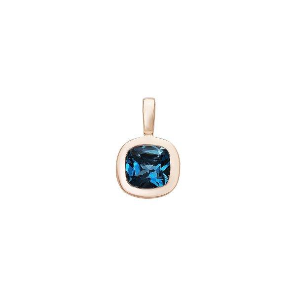 Přívěsek s London blue Topaz 544-374-283102 1.00g